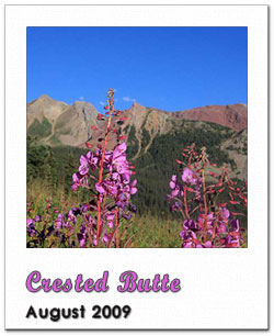 Photoframe Crested Butte
