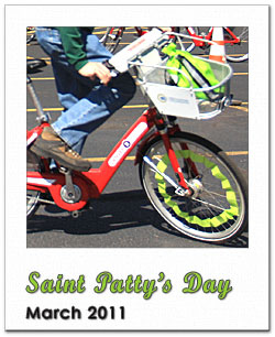 Photoframe St. Patty's Parade